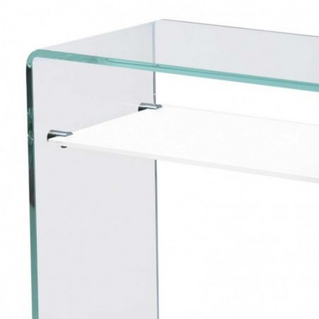 console verre 1 étagère gradient 1