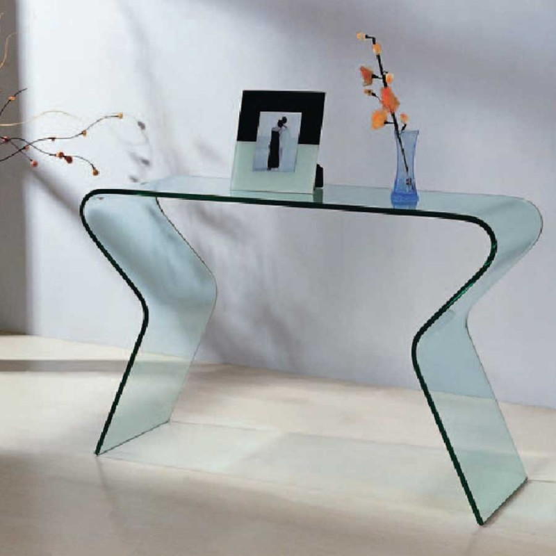 table console en verre fly table extensible table salle a manger extensible fly free with fly. Black Bedroom Furniture Sets. Home Design Ideas