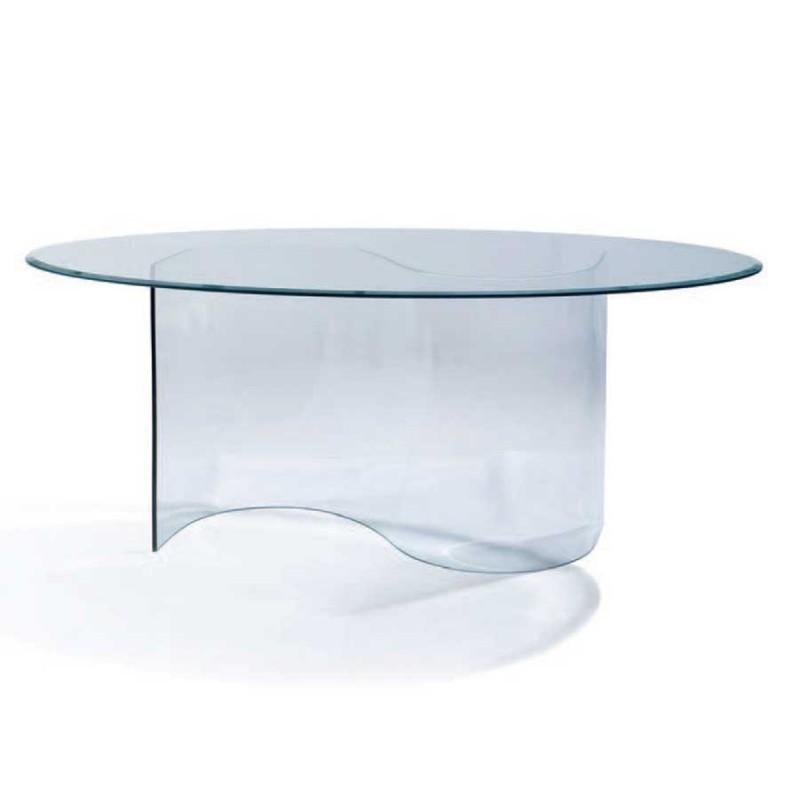 table repas spring verre trempé2x1m
