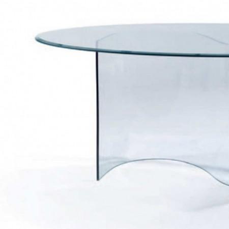 table repas spring verre trempé 2x1m 1