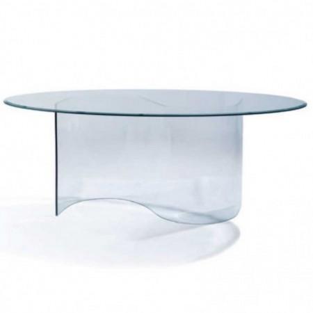 table repas spring verre trempé