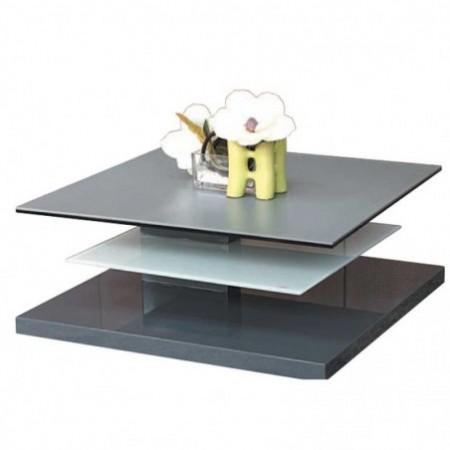 table basse laqué gris tasman