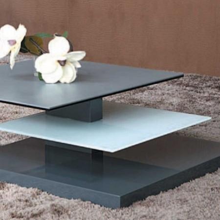 table basse laqué gris tasman 1