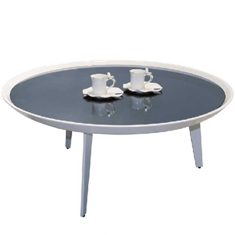table basse cup gris mdf