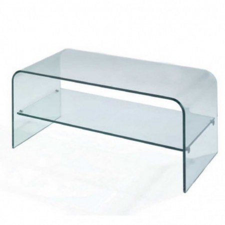 Table Tv En Verre.Dallas Meuble Tv