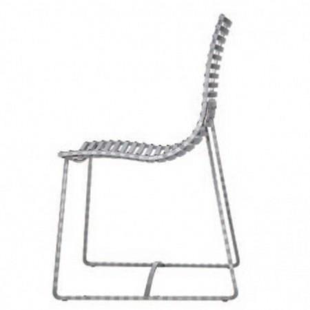 chaise repas detroit aluminium