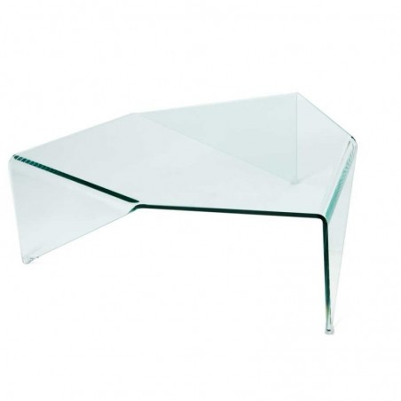 table basse verre easy triangle
