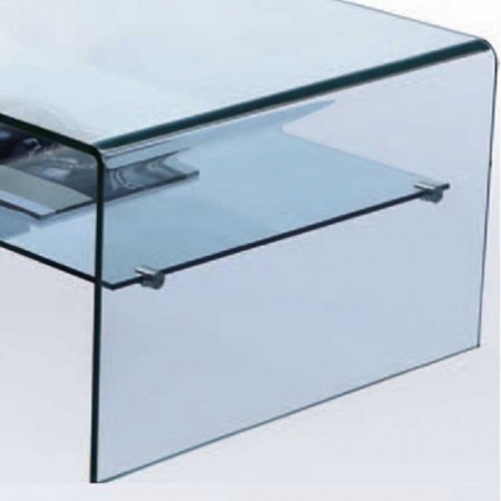table basse eco en verre un plateau 2