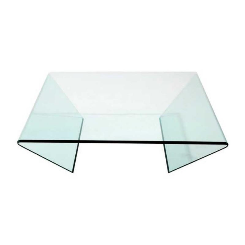 Table Basse En Verre Carree.Achat De Table Basse Tendance Edge En Verre A Prix Casse