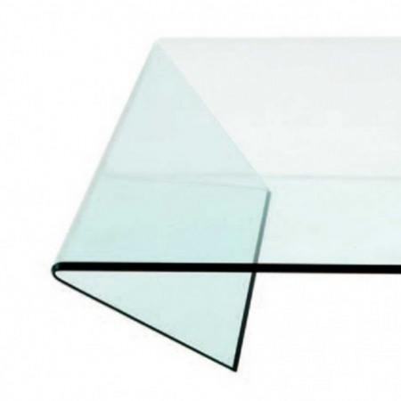 table basse edge verre courbé 1